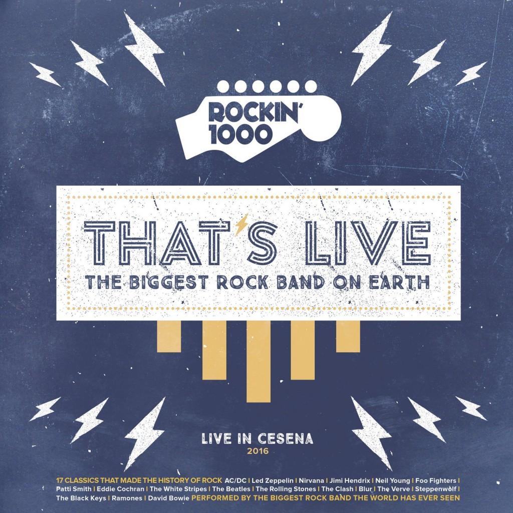 Rockin1000 - That's Live - Alessio Dell'esto